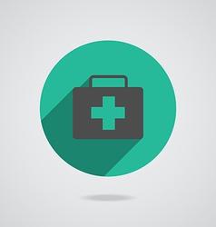 Medical black icon vector image