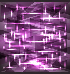 Shiny sky-lilac sunset color pattern of shards vector