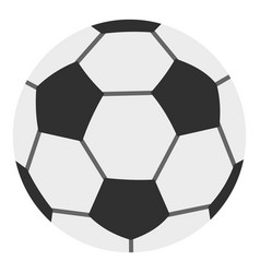 Soccer ball icon isolated vector