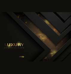 Tech background with golden elements vector