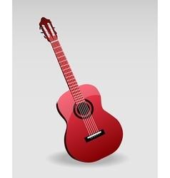 Acoustic classic guitar vector