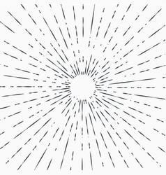 Art deco vintage sun burst frames and design vector