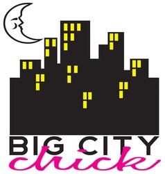 Big City Chick vector