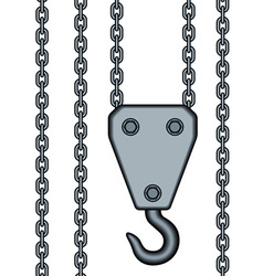 Chains and hook vector