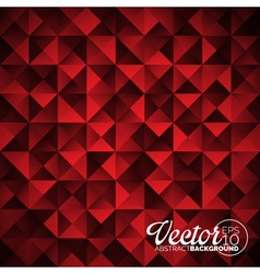Geometric triangles background Abstract vector