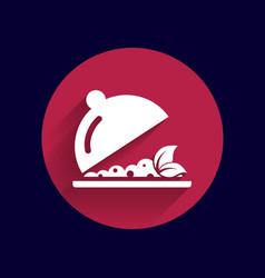 Menu design food cooking dishes kitchen logo vector