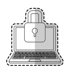 antivirus icon image vector image