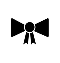 bow award icon sign o vector image vector image