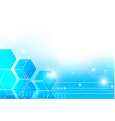 abstract hitech technology background with vector image vector image