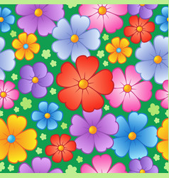 Flowery seamless background 6 vector