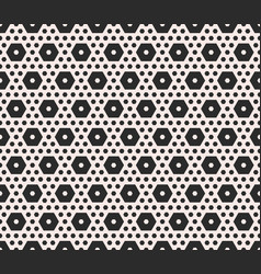 Monochrome texture geometric seamless pattern vector