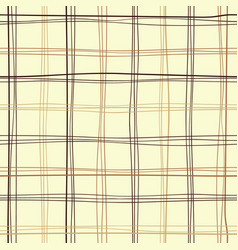 repetitive tartan fabric vector image