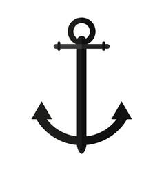 sailing anchor icon image vector image