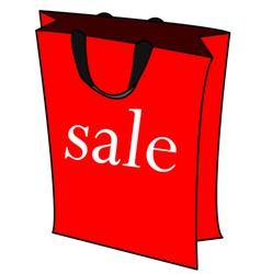 Sale bag vector