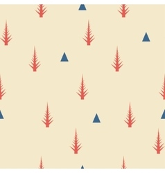 Seamless pattern Old retro minimal background vector