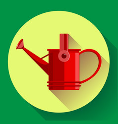 Watering can icon irrigation symbol flat vector