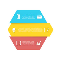 element for infographic business concept vector image