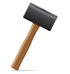 tool hammer 07 vector image vector image