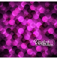 Abstract geometric circles background vector image vector image