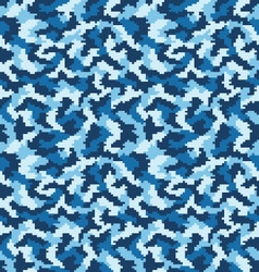 camouflage seamless vector image