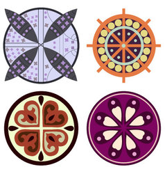 Celtic ornaments vector image