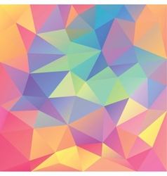 Abstract geometrical polygonal background vector image vector image