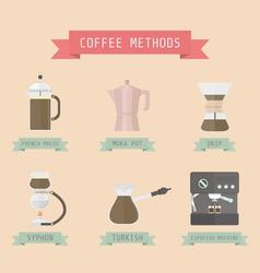 17allcoffeemethod vector image