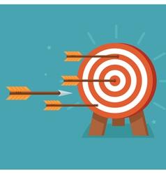 achievement goals concept vector image