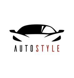 Auto style car logo icon vector