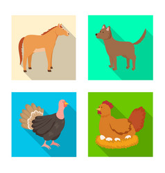 Breeding and kitchen icon vector