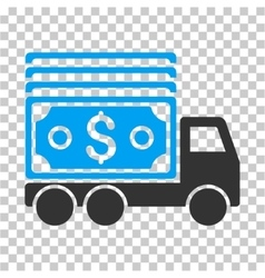Cash Lorry Icon vector