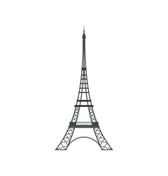 Eiffel Tower icon flat style vector image