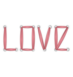 Love t-shirt fashion print on white background vector