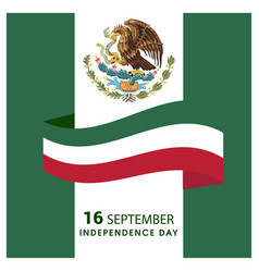 Mexico independence day design vector
