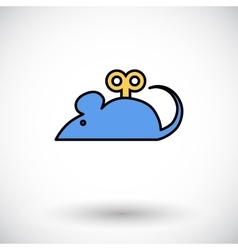 Mouse toy vector