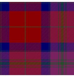 Pride of scotland autumn tartan fabric texture vector image