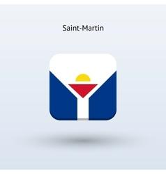 Saint-martin flag icon vector