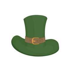 saint patricks hat symbol hand drawn vector image