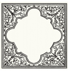 Tile ornament vector