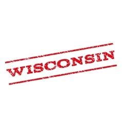 Wisconsin Watermark Stamp vector