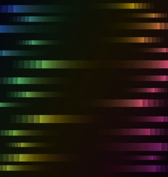 rainbow color of abstract pixel speed background vector image vector image