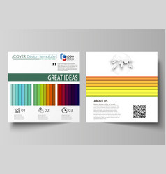 Bright color rectangles colorful design vector
