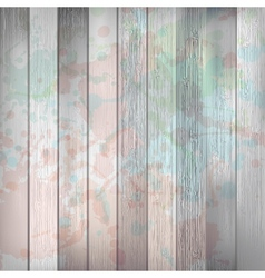 Wooden with paint splashes template plus EPS10 vector image vector image