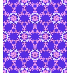 Abstract geometric blue violet pink seamless vector