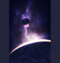 Abstract universe vector