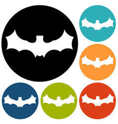 bat halloween vector image