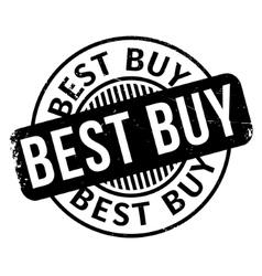 Best Buy rubber stamp vector
