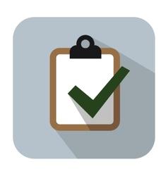 Clipboard icon vector