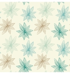 Floral seamless pattern with roses vector
