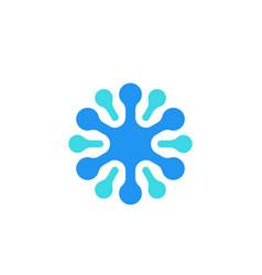 Neuron icon logo vector